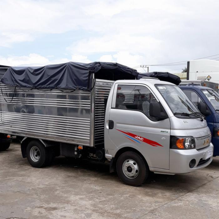Xe Tải JacX150 thùng kín l sản phẩm cạnh tranh mạnh trong phân khúc 1T49 l Ô TÔ Phước Tiến