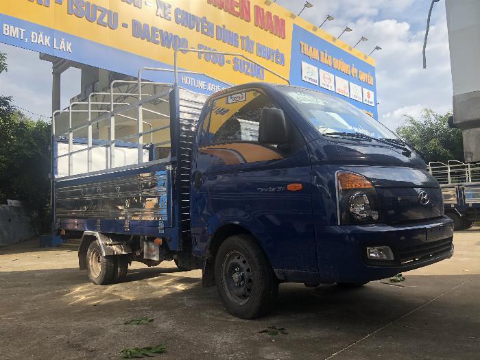 Báo giá xe tải Hyundai H150 thùng mui bạt, hỗ trợ trả góp 80% LS thấp 1
