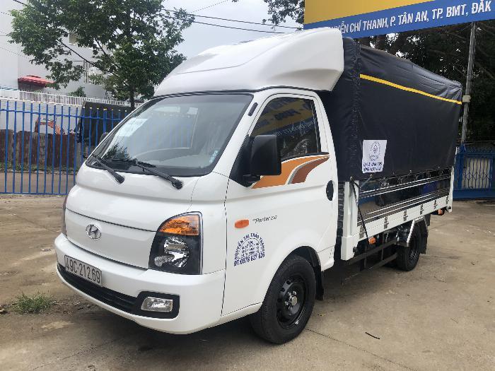 Báo giá xe tải Hyundai H150 thùng mui bạt, hỗ trợ trả góp 80% LS thấp 2