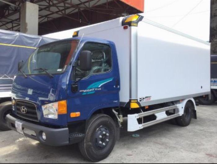 Báo giá xe tải Hyundai Mighty 2017 thùng mui bạt tải trọng 8 tấn, hỗ trợ trả góp 80% 9