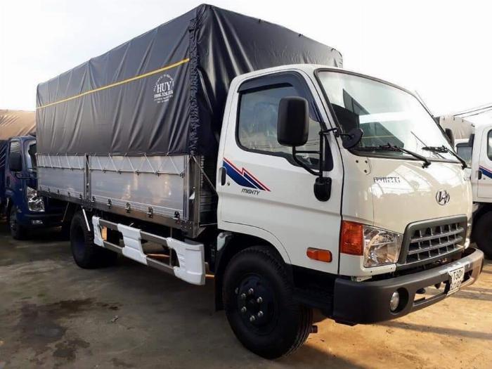 Báo giá xe tải Hyundai Mighty 2017 thùng mui bạt tải trọng 8 tấn, hỗ trợ trả góp 80% 3