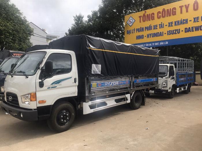 Bán xe tải Hyundai Mighty 7 tấn đủ thùng hàng, có sẵn xe, giao ngay 3