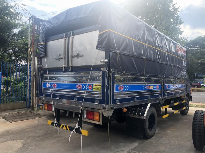 Báo giá xe tải Hyundai Mighty 2017 thùng mui bạt tải trọng 8 tấn, hỗ trợ trả góp 80% 5
