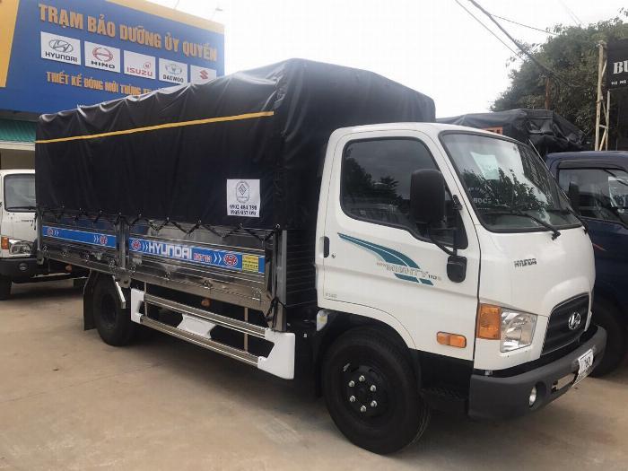Bán xe tải Hyundai Mighty 7 tấn đủ thùng hàng, có sẵn xe, giao ngay 1