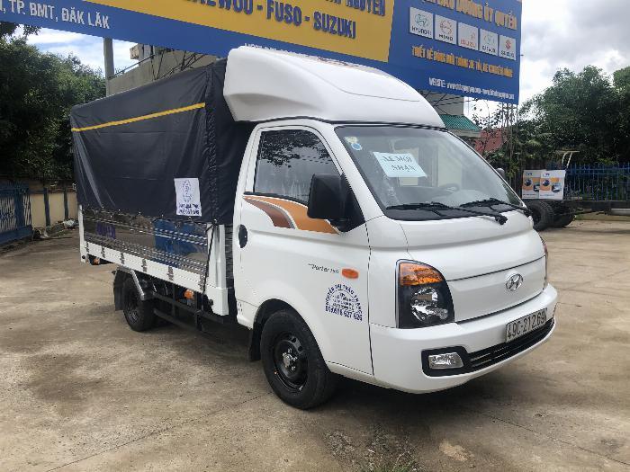 Báo giá xe tải Hyundai H150 thùng mui bạt, hỗ trợ trả góp 80% LS thấp 12