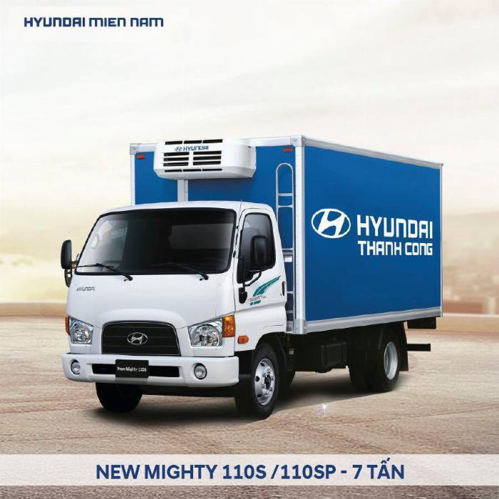 Bán xe tải Hyundai Mighty 7 tấn đủ thùng hàng, có sẵn xe, giao ngay 7