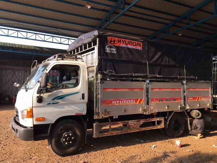 Bán xe tải Hyundai Mighty 7 tấn đủ thùng hàng, có sẵn xe, giao ngay 8
