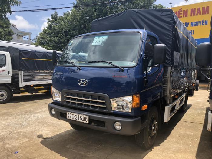 Báo giá xe tải Hyundai Mighty 2017 thùng mui bạt tải trọng 8 tấn, hỗ trợ trả góp 80% 18