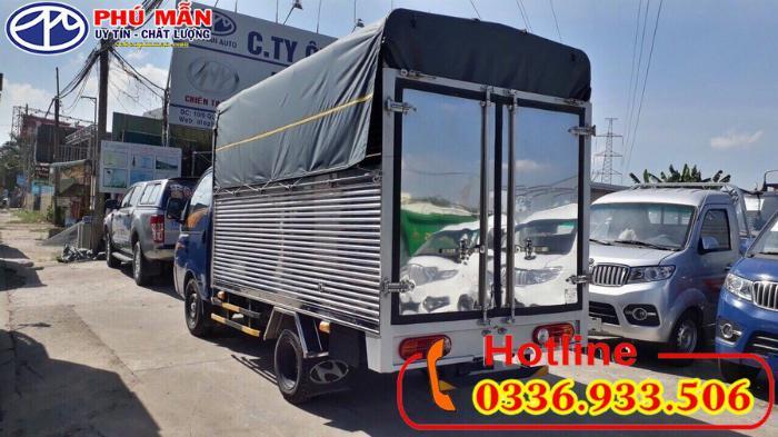 Xe Hyundai 1.5 tấn thùng bạt