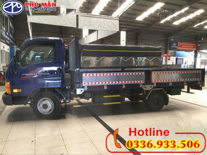 Xe Hyundai Mighty 2.5 tấn thùng lửng