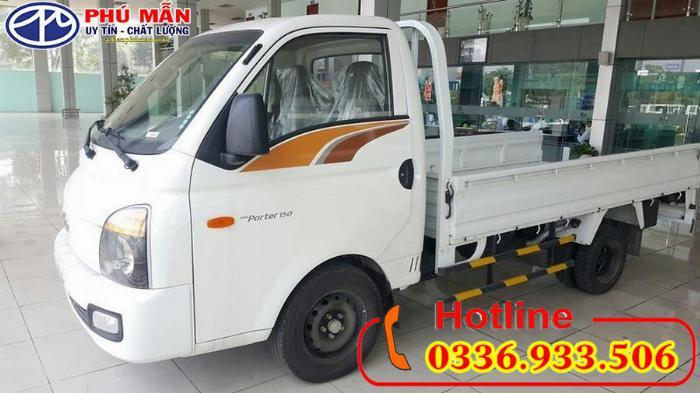 Xe Hyundai 1.5 tấn thùng lửng