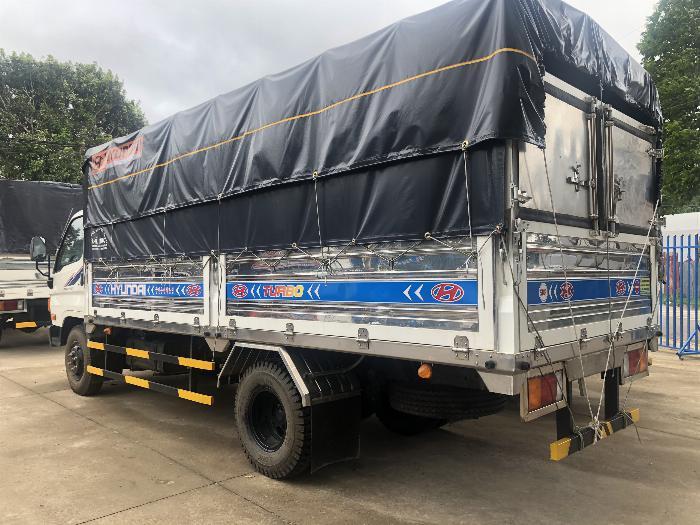 Báo giá xe tải Hyundai Mighty 2017 ga cơ 8 tấn thùng mui bạt - Chỉ 200Tr giao xe ngay 1