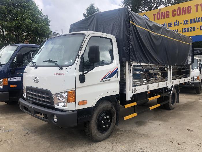 Báo giá xe tải Hyundai Mighty 2017 ga cơ 8 tấn thùng mui bạt - Chỉ 200Tr giao xe ngay 4