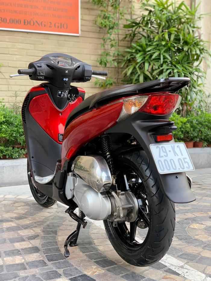 Cần bán SH Nhập 125 cuối 2011 màu đỏ Sport cực đẹp, cực chất