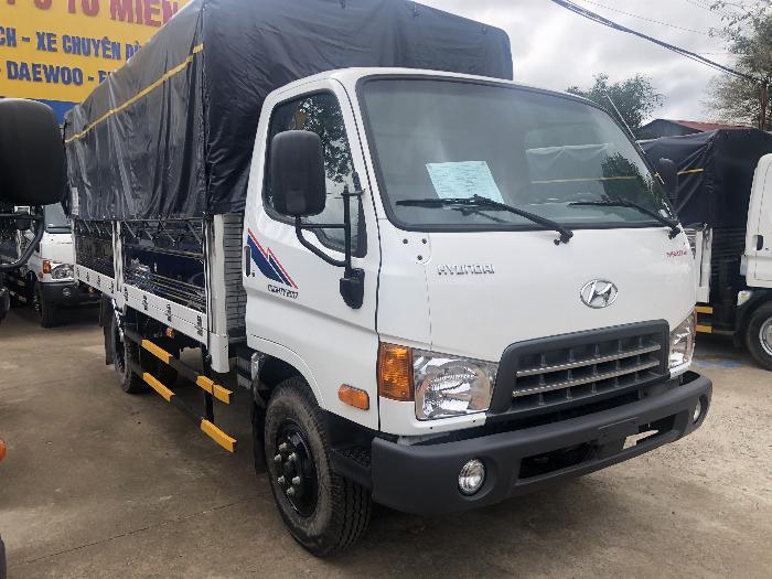 Báo giá xe tải Hyundai Mighty 2017 ga cơ 8 tấn thùng mui bạt - Chỉ 200Tr giao xe ngay 0