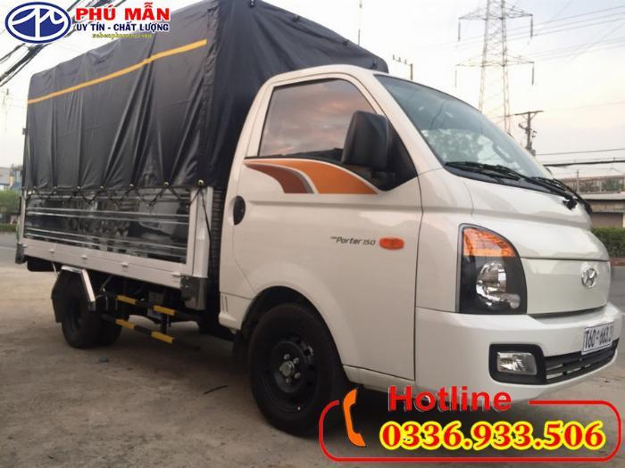 Xe Hyundai new porter H150 thùng bạt