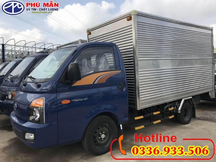 Xe Hyundai new porter H150 thùng kín