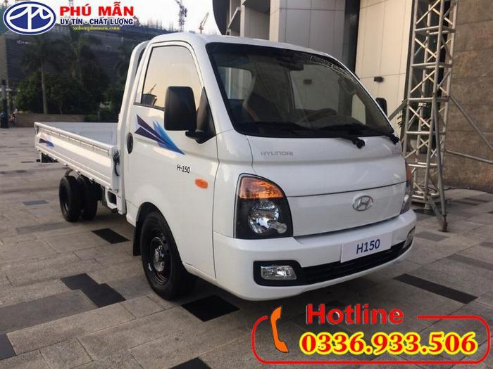 Xe Hyundai new porter H150 thùng lửng