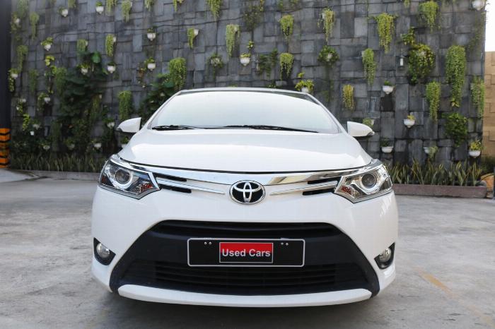 Bán xe Vios G sx 2018 màu trắng, giảm giá mạnh cho khách thiện chí