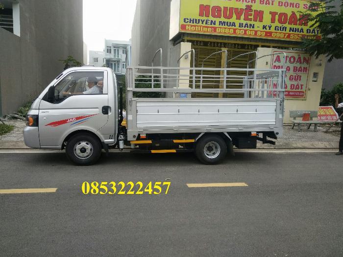 JAC x150 thùng bạt - dài 3m2 - động cơ 1.8l 0