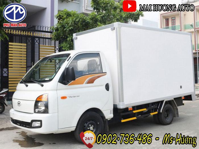 Xe tải Hyundai 1.5T H150- thùng kín 2019