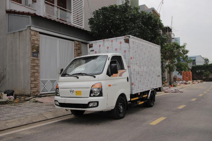 hyundai porter 1t5 - thùng bạt dài 3m1 - cabin 3 chổ