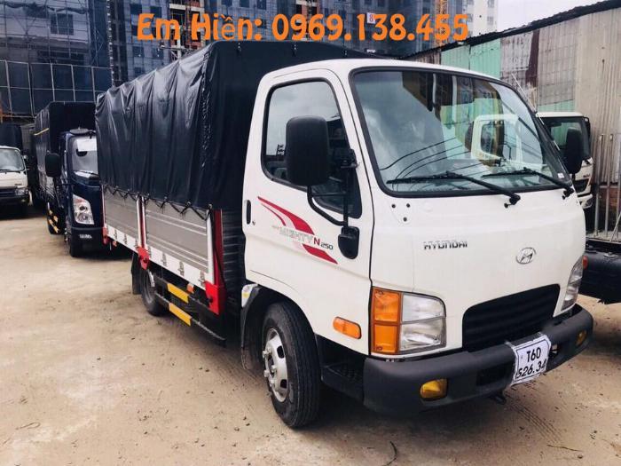 Hyundai N250SL 2.5 Tấn, Đời 2019 | Tặng Ngay Định Vị + Phù Hiệu | Không Cần Chứng Minh Thu Nhập