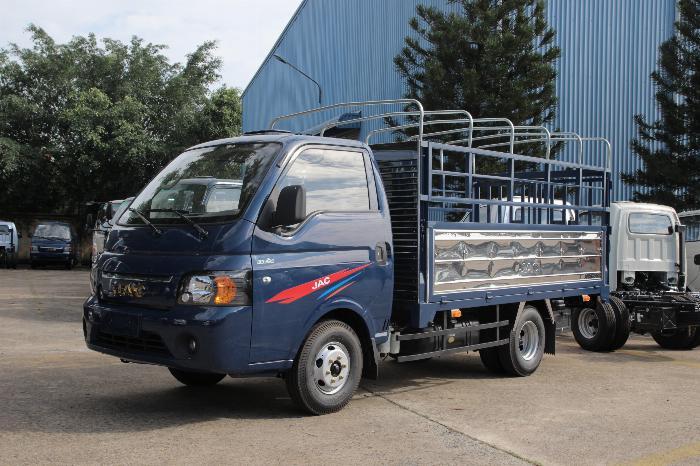 jac x150 - thùng bạt 3m2 - tiêu chuẩn khí thải euro 4 - ga điện