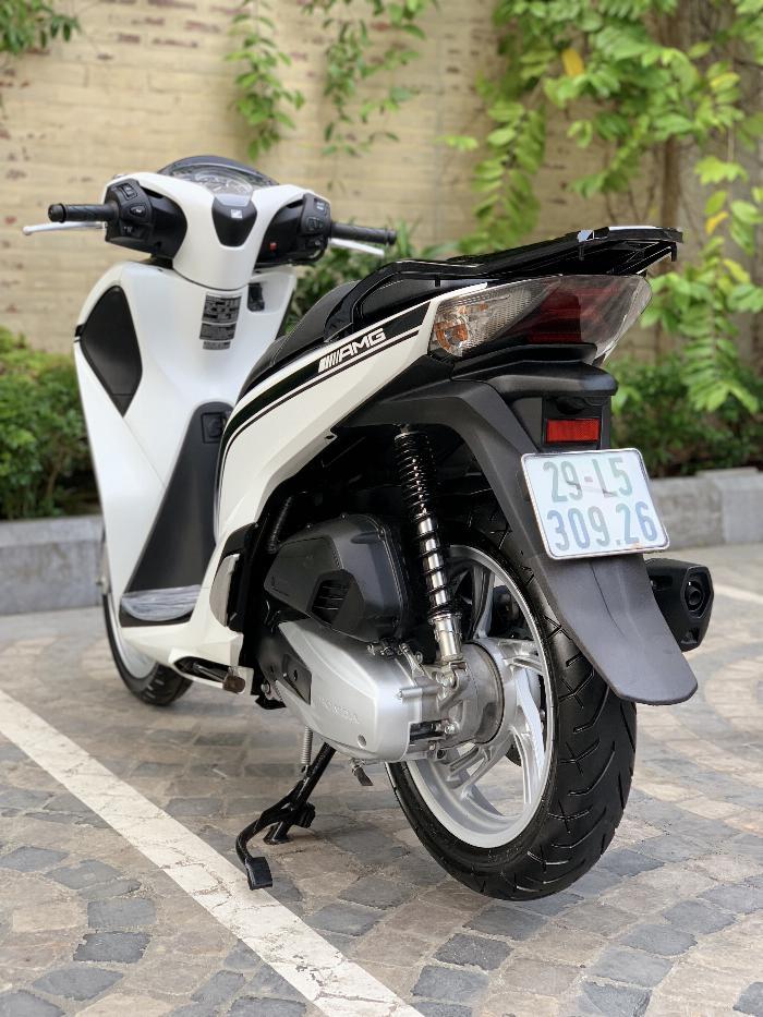 Cần bán SH Việt 150 ABS cuối 2018 màu Trắng cực đẹp- Biển Vip