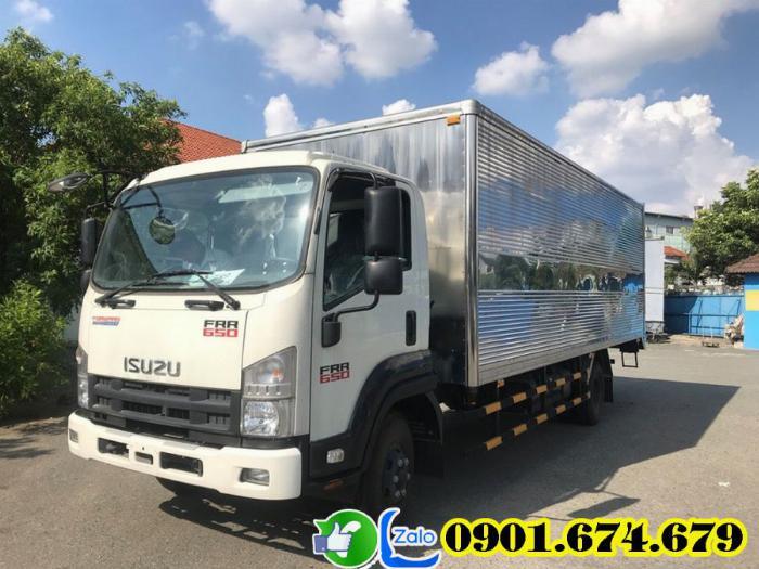 Xe Isuzu 6t5 thùng kín - Isuzu FRR650