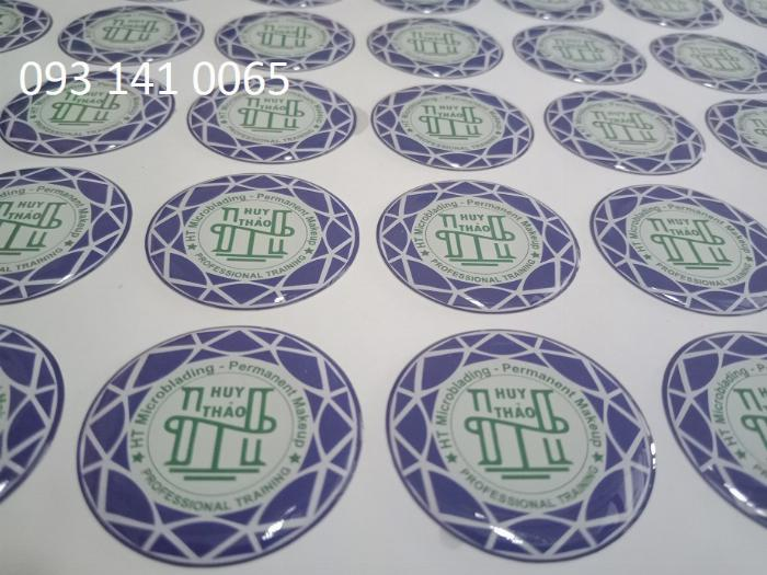 In decal trong lót trắng, decal phản quang, decal 7 màu 0