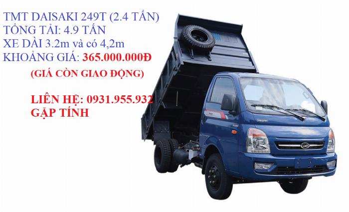TMT DAISAKI 249T( 2,4T TẤN)