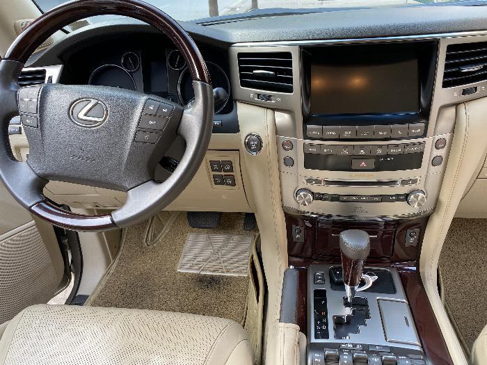 Bán Lexus LX570 Nhâp Mỹ ,màu vàng,sản xuất 2014,đăng ký 2016,xe siêu mới . 5