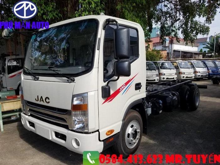 Bán xe tải JAC N650| Xe tải jac 6t5 Cabin Vuông 2020| Xe tải jac 6t5 Động cơ DEV Đức 2