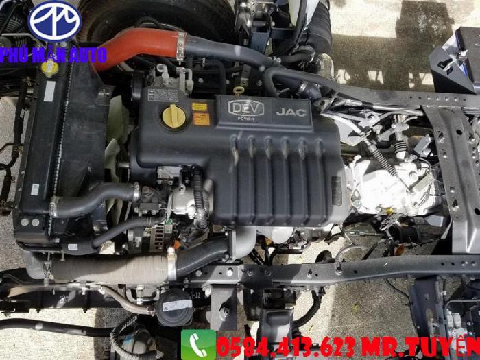 Bán xe tải JAC N650| Xe tải jac 6t5 Cabin Vuông 2020| Xe tải jac 6t5 Động cơ DEV Đức 3
