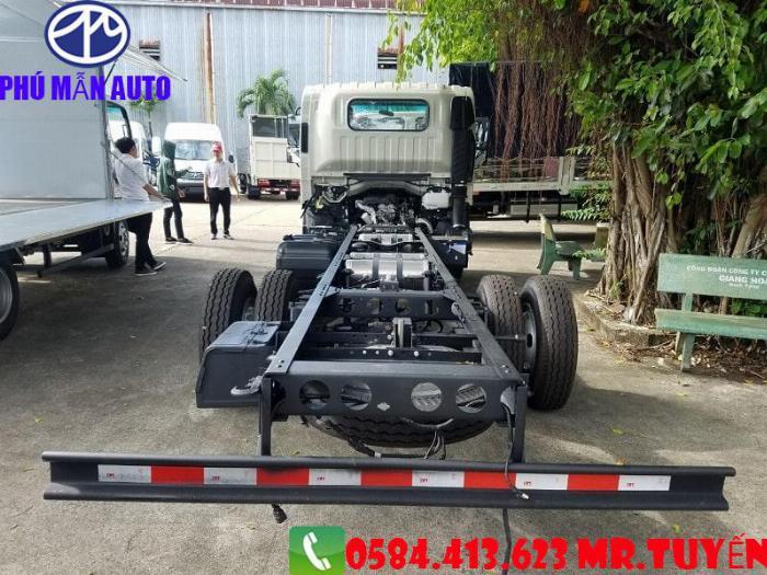 Bán xe tải JAC N650| Xe tải jac 6t5 Cabin Vuông 2020| Xe tải jac 6t5 Động cơ DEV Đức 4