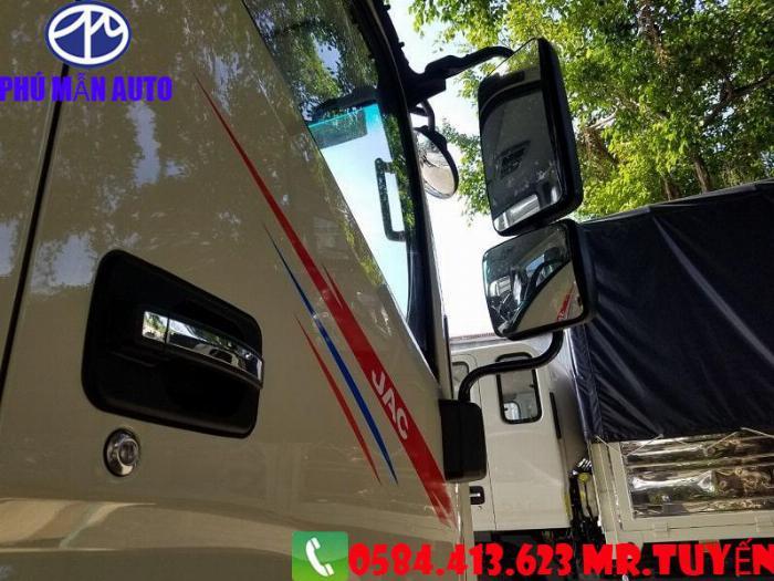 Bán xe tải JAC N650| Xe tải jac 6t5 Cabin Vuông 2020| Xe tải jac 6t5 Động cơ DEV Đức 5
