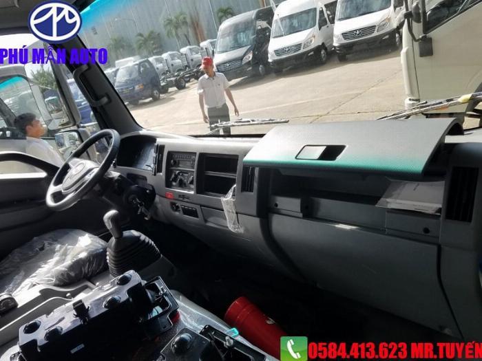 Bán xe tải JAC N650| Xe tải jac 6t5 Cabin Vuông 2020| Xe tải jac 6t5 Động cơ DEV Đức 6
