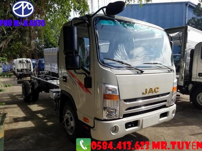 Bán xe tải JAC N650| Xe tải jac 6t5 Cabin Vuông 2020| Xe tải jac 6t5 Động cơ DEV Đức 7