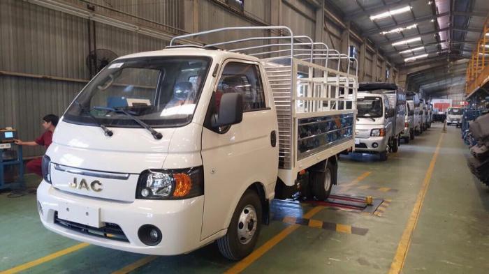 bán xe JAC 1 tấn 25 giao xe trong ngày