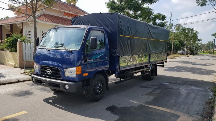 Hyundai New Mighty 110SL Mui Bat, 2019, thùng dài 5m76