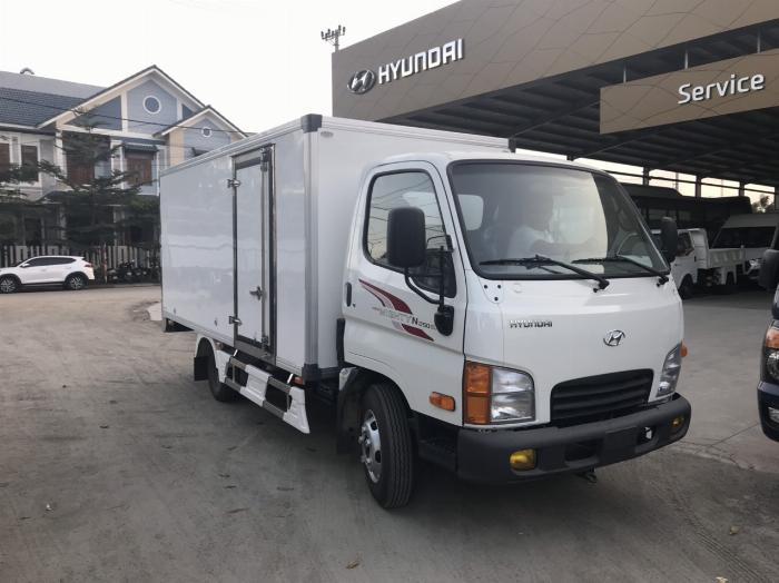 NewMighty N250SL, Thùng kín composite, 2019, tải 2t4 1