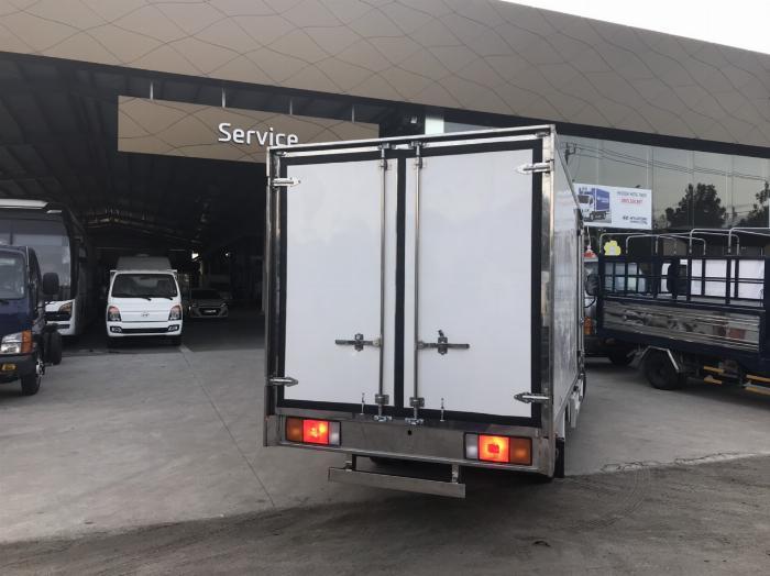 NewMighty N250SL, Thùng kín composite, 2019, tải 2t4 3