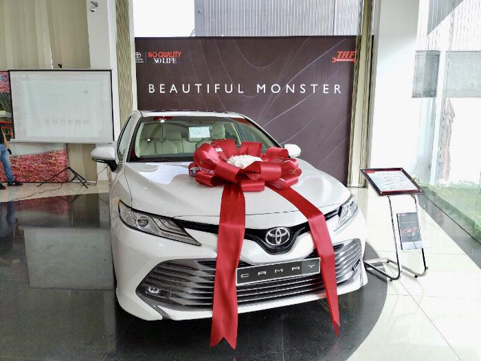 Xe hạng D: Toyota Camry 2.967 chiếc