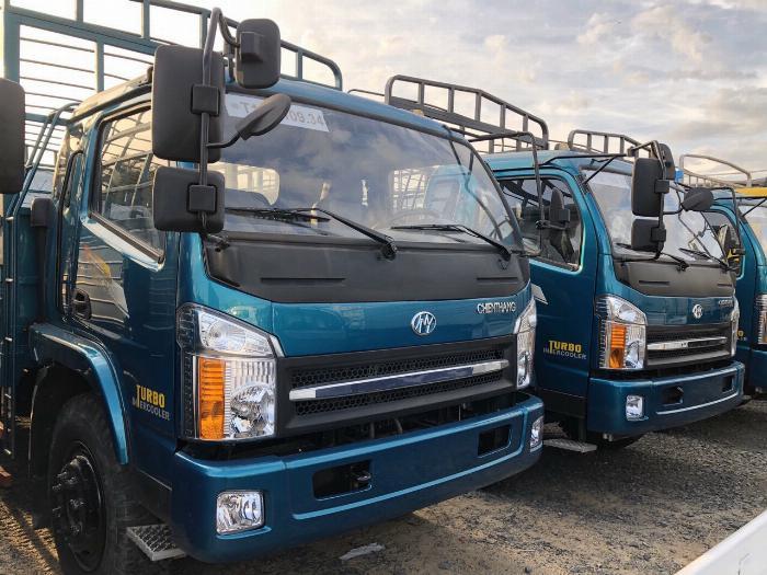 Xe tải 7 tấn - Xe tải Ga Cơ - Chiến Thắng 2017 - Thùng mui bạt 6M3