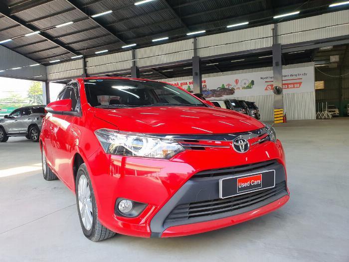 Toyota Vios sản xuất năm 2015 Số tự động Động cơ Xăng