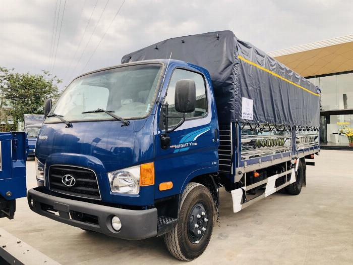 Giá Xe tải Hyundai New mighty 110SL. Tải trọng 7 tấn. Thùng dài 5m7, hổ trợ trả góp 70 - 90% 1
