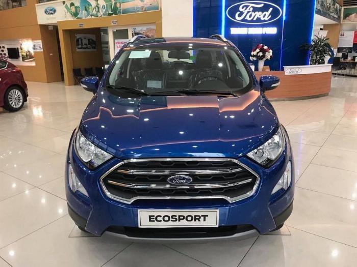 Ford Ecosport sản xuất năm  Số tự động Động cơ Xăng