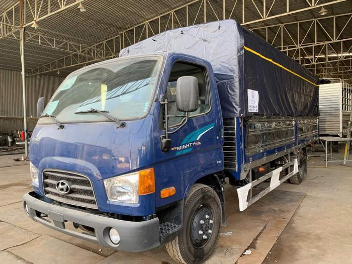 Giá Xe tải Hyundai New mighty 110SL. Tải trọng 7 tấn. Thùng dài 5m7, hổ trợ trả góp 70 - 90% 2