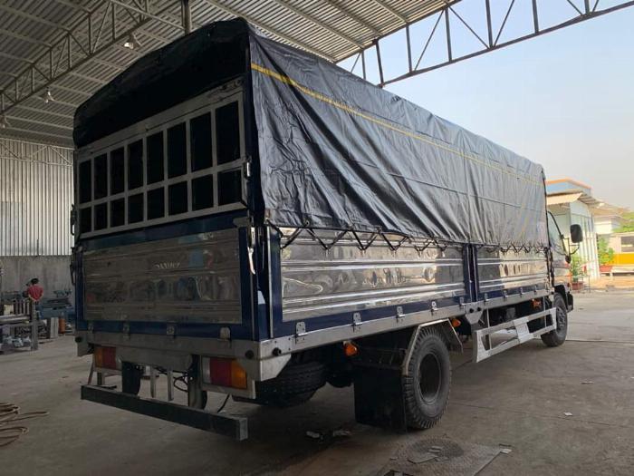 Giá Xe tải Hyundai New mighty 110SL. Tải trọng 7 tấn. Thùng dài 5m7, hổ trợ trả góp 70 - 90% 3